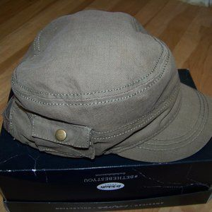 Olive Brown Cap